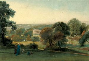 William Leighton Leitch - Alresford Grange, Hampshi..