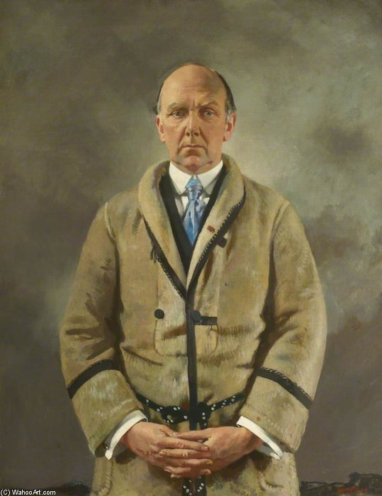 Leonard A. Scott Stokes de William Newenham Montague Orpen (1878-1931, Ireland) | ArtsDot.com