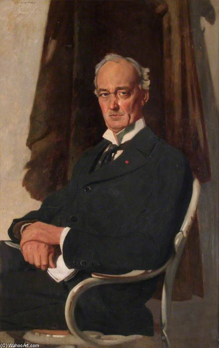 Señor Riddell de William Newenham Montague Orpen (1878-1931, Ireland)