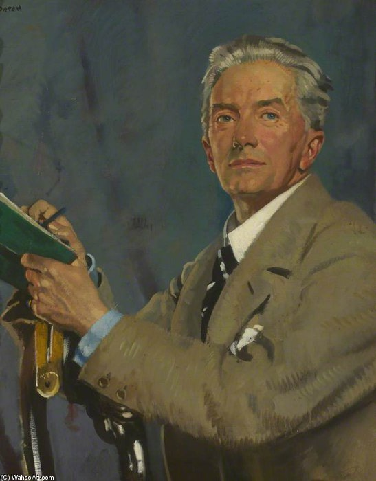 Paul Waterhouse de William Newenham Montague Orpen (1878-1931, Ireland) | Impresiones De Arte En Lienzo | ArtsDot.com