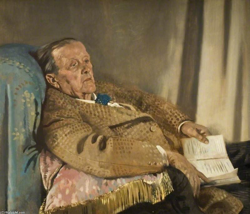 Sir Edwin Ray Lankester de William Newenham Montague Orpen (1878-1931, Ireland)