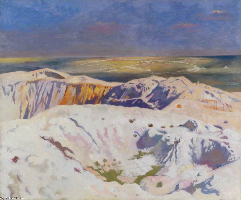 El Gran Cráter de William Newenham Montague Orpen (1878-1931, Ireland) | ArtsDot.com