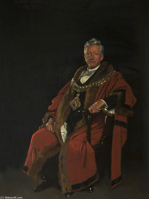 El Muy Honorable Baron Leverhulme de William Newenham Montague Orpen (1878-1931, Ireland)