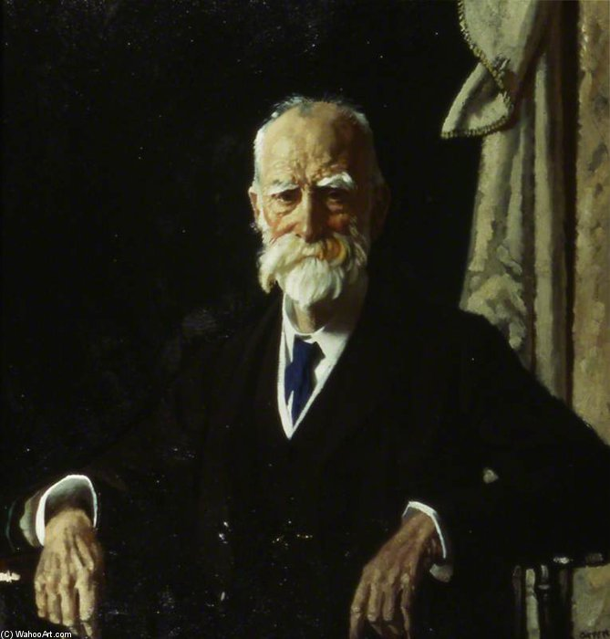 El Muy Honorable Vizconde Bryce, GCVO, Pc de William Newenham Montague Orpen (1878-1931, Ireland)