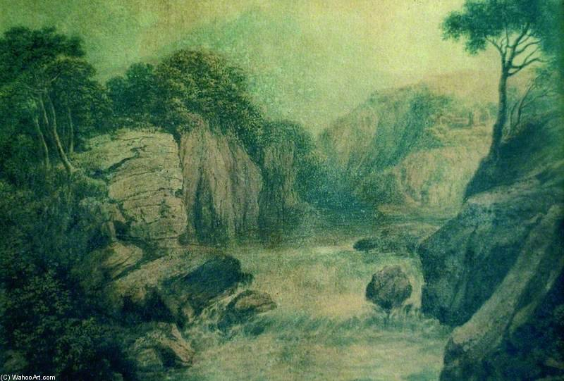 el catarata de Patrick Nasmyth (1787-1831, United Kingdom)