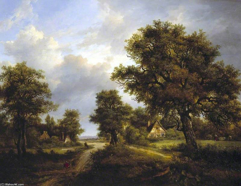 Ver En Sussex - de Patrick Nasmyth (1787-1831, United Kingdom)
