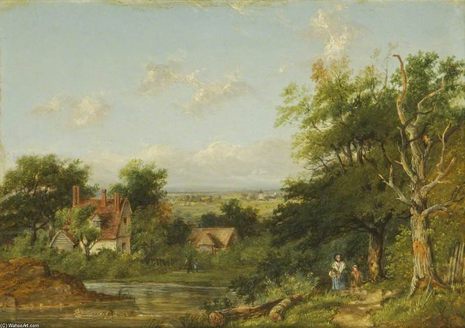 Ver En Sussex de Patrick Nasmyth (1787-1831, United Kingdom)