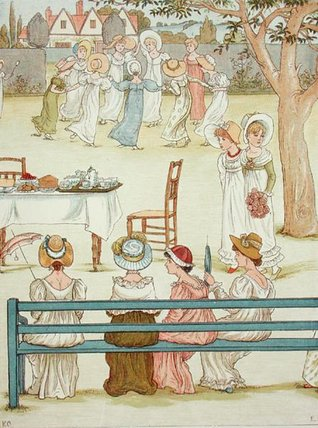 un jardín Fiesta de Kate Greenaway (1846-1901, United Kingdom)