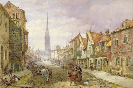 Salisbury de Louise Rayner (1832-1924, United Kingdom)