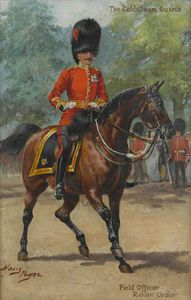 Harry Payne - El Coldstream Guards camp..