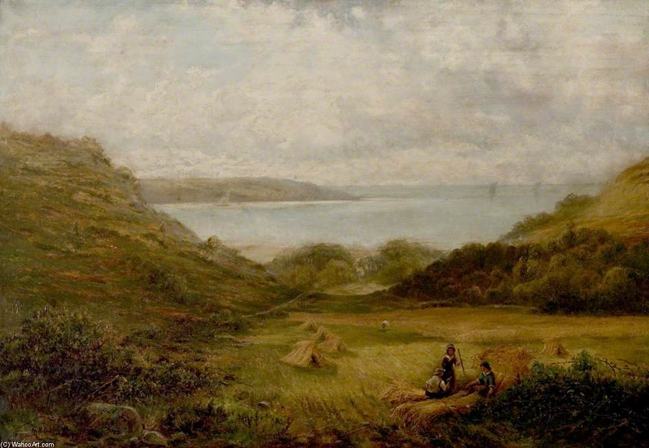 Barmouth Bay de Henry Hadfield Cubley (1858-1934, United Kingdom)