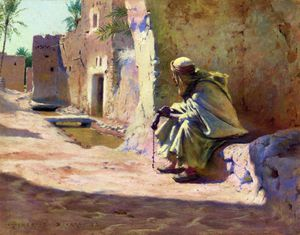Charles James Theriat - En la sombra, Biskra
