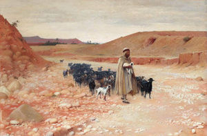 Charles James Theriat - El goatherder