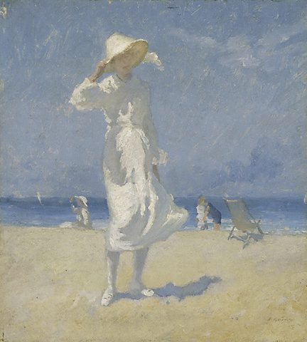 Tarde, Bondi de Elioth Gruner (1882-1939, New Zealand)