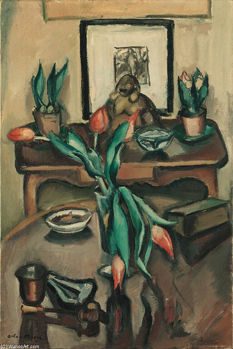 Nature Morte de Emile Othon Friesz (1879-1949, France)