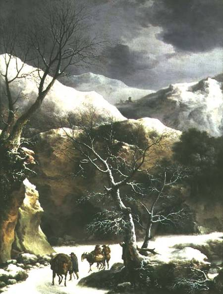 winter_landscape_pair_81020_hi de Francesco Foschi (1710-1780, Italy)