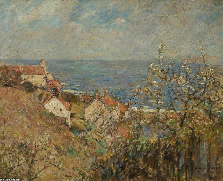 Runswick Bay de Frederick William Jackson (1859-1918, United Kingdom)