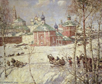El Kremlin de Frederick William Jackson (1843-1942, United States)