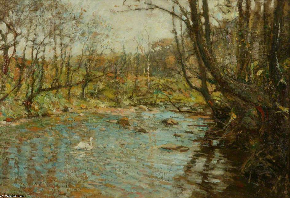 el arroyo de Frederick William Jackson (1859-1918, United Kingdom)