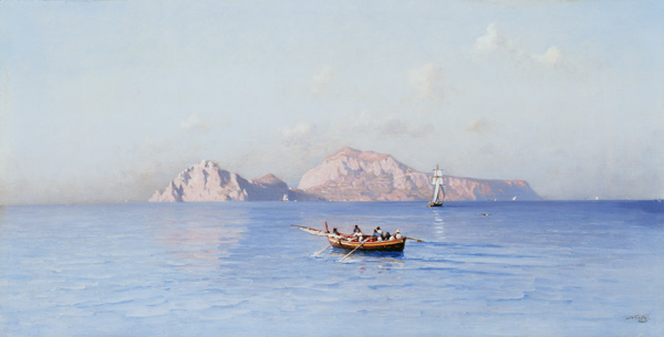 buscar en Capri Of el norte Side de Friedrich Nerly  (pedir Arte fino Impresiones sobre lienzo Friedrich Nerly)