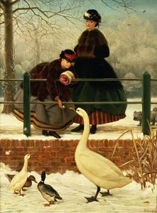George Dunlop Leslie - Frozen Out -