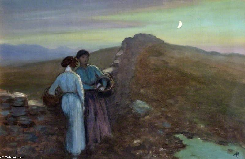 Eventide de George William Russell (1867-1935, Ireland) | ArtsDot.com