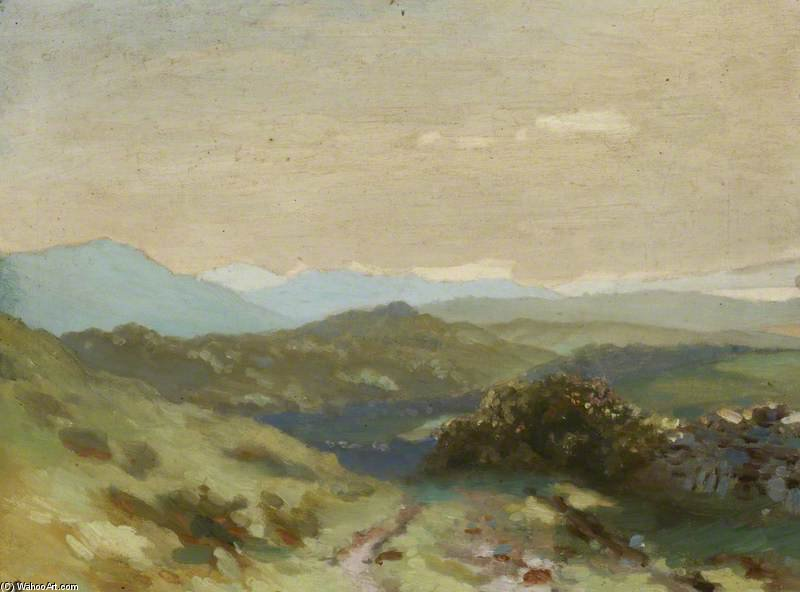irlandés paisaje de George William Russell (1867-1935, Ireland)