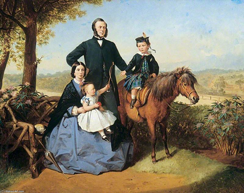 familia grupo de Thomas Barker (1769-1847, United Kingdom)