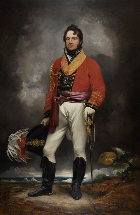 El teniente general Sir William Cockburn de Thomas Barker (1769-1847, United Kingdom)