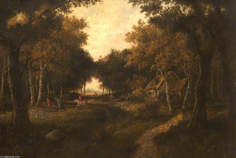 Woodland Caza de Thomas Barker (1769-1847, United Kingdom)
