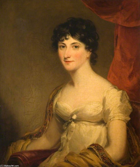Señora Hannah Chetwynd de William Owen (1769-1825, United Kingdom)
