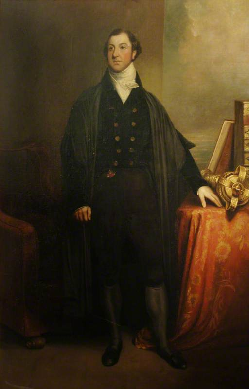 Sir Leonard Thomas Worsley Holmes de William Owen (1769-1825, United Kingdom)