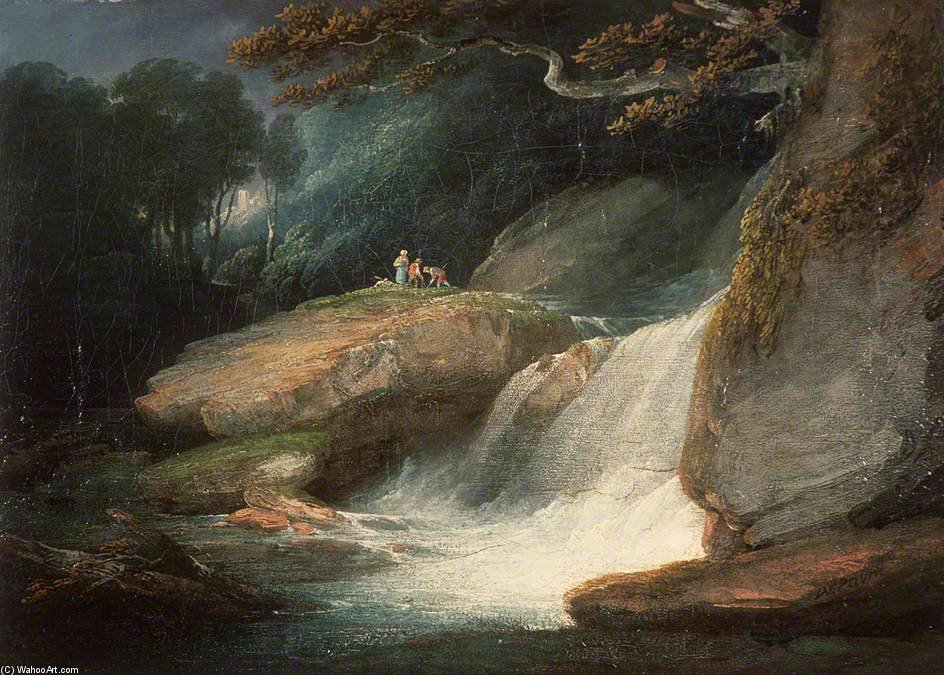 Swallow Falls de William Payne (1760-1830, United Kingdom) | Reproducciones De Arte Del Museo | ArtsDot.com