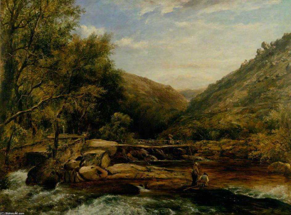 Puente de Jackson, Cumberland de Frederick Waters Watts (1800-1870, United Kingdom)