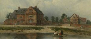 Frederick Waters (William) Watts - Salón del Rey, Wisbech