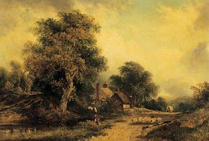 Frederick Waters (William) Watts - paisaje