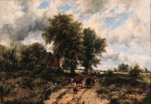 Frederick Waters (William) Watts - Cerca de Dorking, Surrey
