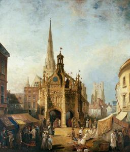 Henry Pether - vistas Chichester Cruzar desde..