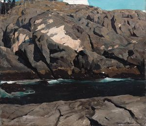 Rockwell Kent - Rocky Inlet
