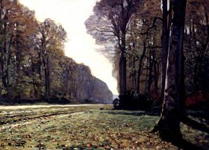 Claude Monet - el camino a chailly