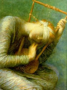 Frederick Waters Watts - espero (detalle)