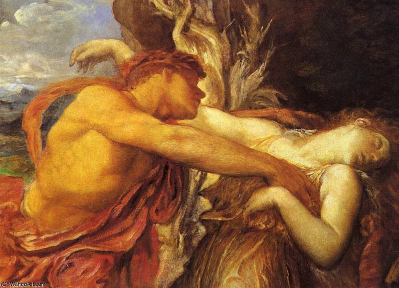 Orfeo y Eurídice de Frederick Waters Watts (1800-1870, United Kingdom)