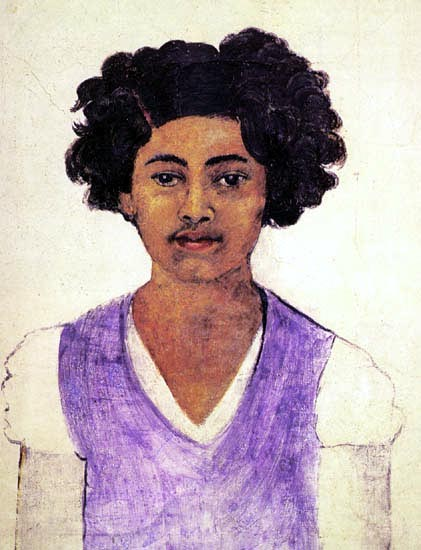 Self-Portrait , de Frida Kahlo (1907-1954, Mexico)