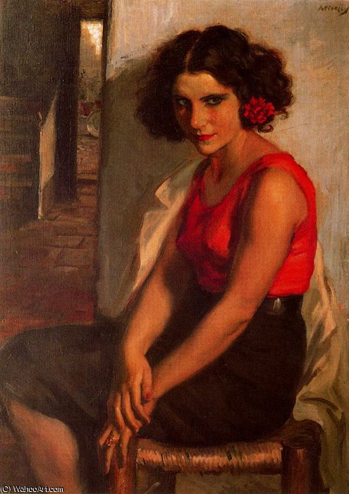 sin título (485) de Jorge Apperley (George Owen Wynne Apperley) (1884-1960, United Kingdom)