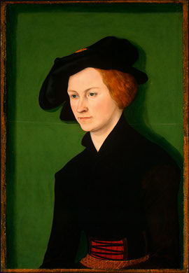 retrato de un mujer, 1522 de Lucas Cranach The Elder (1472-1553, Germany)