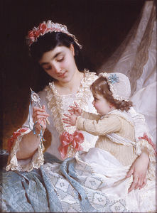 Emile Munier - Nd 10 distraer al bebé