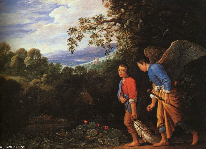 Follwer de), 1600 de Adam Elsheimer (1578-1610, Germany)