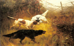 Thomas Blinks - tres `pointers` en un paisaje