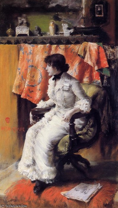 Virginia gerson de William Merritt Chase (1849-1916, United States)