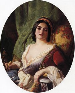 Charles Edouard Boutibonn.. - un joven mujer desde `smy..